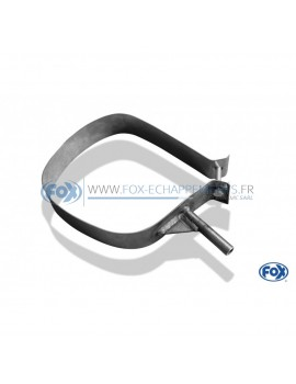 Stainless rear silent fastening collar for CITRO-N C4 COUPÉ