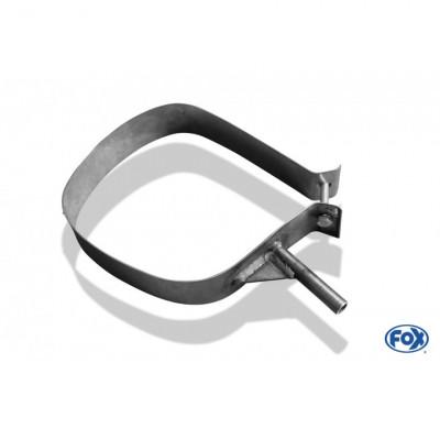 Collier de fixation silencieux arrière inox pour CITROËN C4 BERLINE TYPE B7