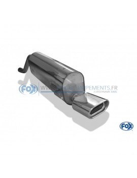 Tube de suppression de silencieux avant inox pour Ford Fiesta V ST150