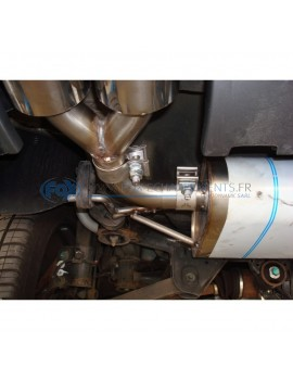 Silencieux avant inox pour Opel Astra F Hayon