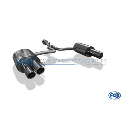 Catback complet inox pour Seat Leon type 5F Cupra