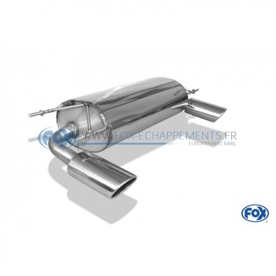 Silencieux avant inox pour Volkswagen Passat 3C 4-Motion