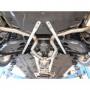 Silencieux arrière inox pour Opel Corsa E