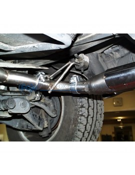 Tube de suppression de silencieux avant pour Volkswagen Golf 7 R