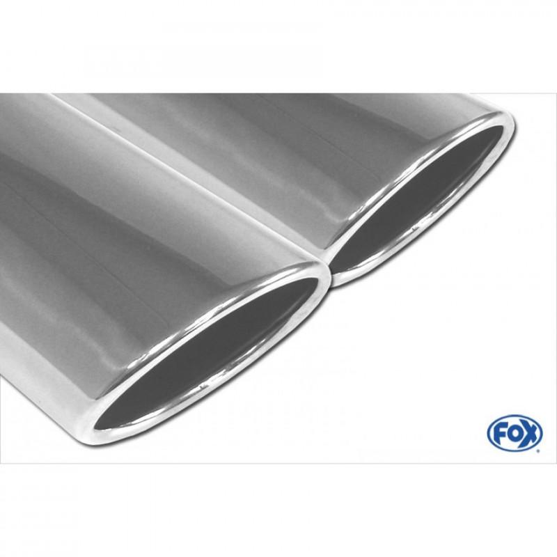 Tube de suppression de silencieux avant inox pour Ford Mondeo MK4 Hayon + Break