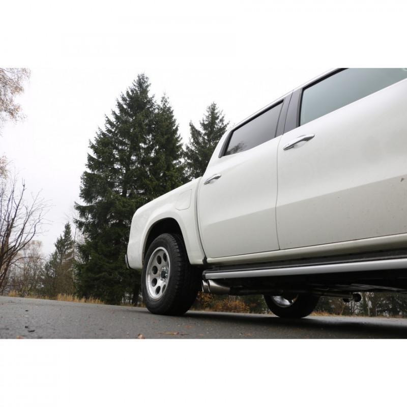 Silencieux arrière inox sans valve électronique pour Seat Ibiza type KJ