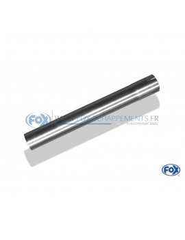 copy of Silent rear duplex stainless steel 1x100mm type 16 for MAZDA CX5 TYPE KE/GH