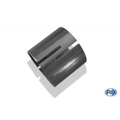 Tube de connexion inox pour AUDI 80 CABRIOLET TYPE B4
