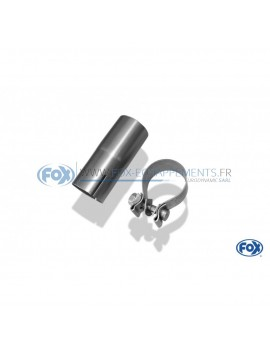 copy of Stainless front silencer removal tube for OPEL ASTRA H/ASTRA H GTC