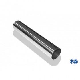 Embout d'échappement inox type 10 / Ø63mm / long 300mm
