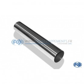 Embout d'échappement inox type 10 / Ø76mm / long 300mm