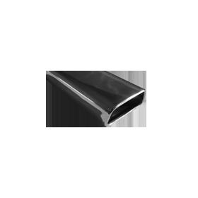 Embout d'échappement inox type 60 / 145x65mm / long 270mm / biseauté 20°