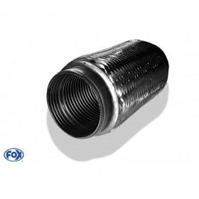 Flexible d'échappement inox / connexion Ø63mm intérieur / longueur 200mm