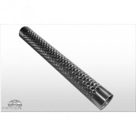 Tube perforé inox / Ø70mm / longueur 450mm