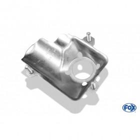 Tôle pour fixation moteur pour valve d'échappement électrique