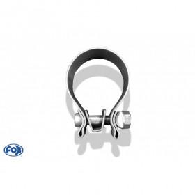 Collier de serrage inox / Ø63mm