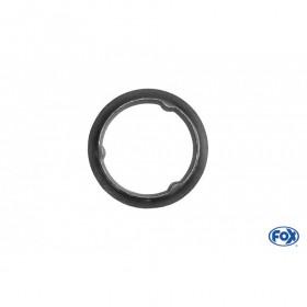 Collier pince acier / Ø61/77mm