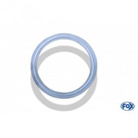 Collier en V inox / Ø76/95mm